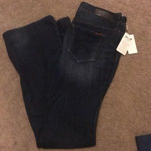 Blue jeans (flare) never been worn with tags